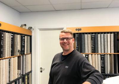 Claus Frandsen - direktør hos K.D. Gulve